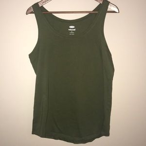 Old Navy army green tank, Medium- Tall NWOT.